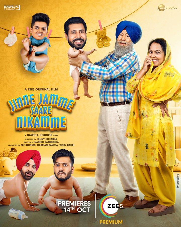 Jinne Jamme Saare Nikamme 2021 Punjabi 720p ZEE5 HDRip ESub 901MB Download
