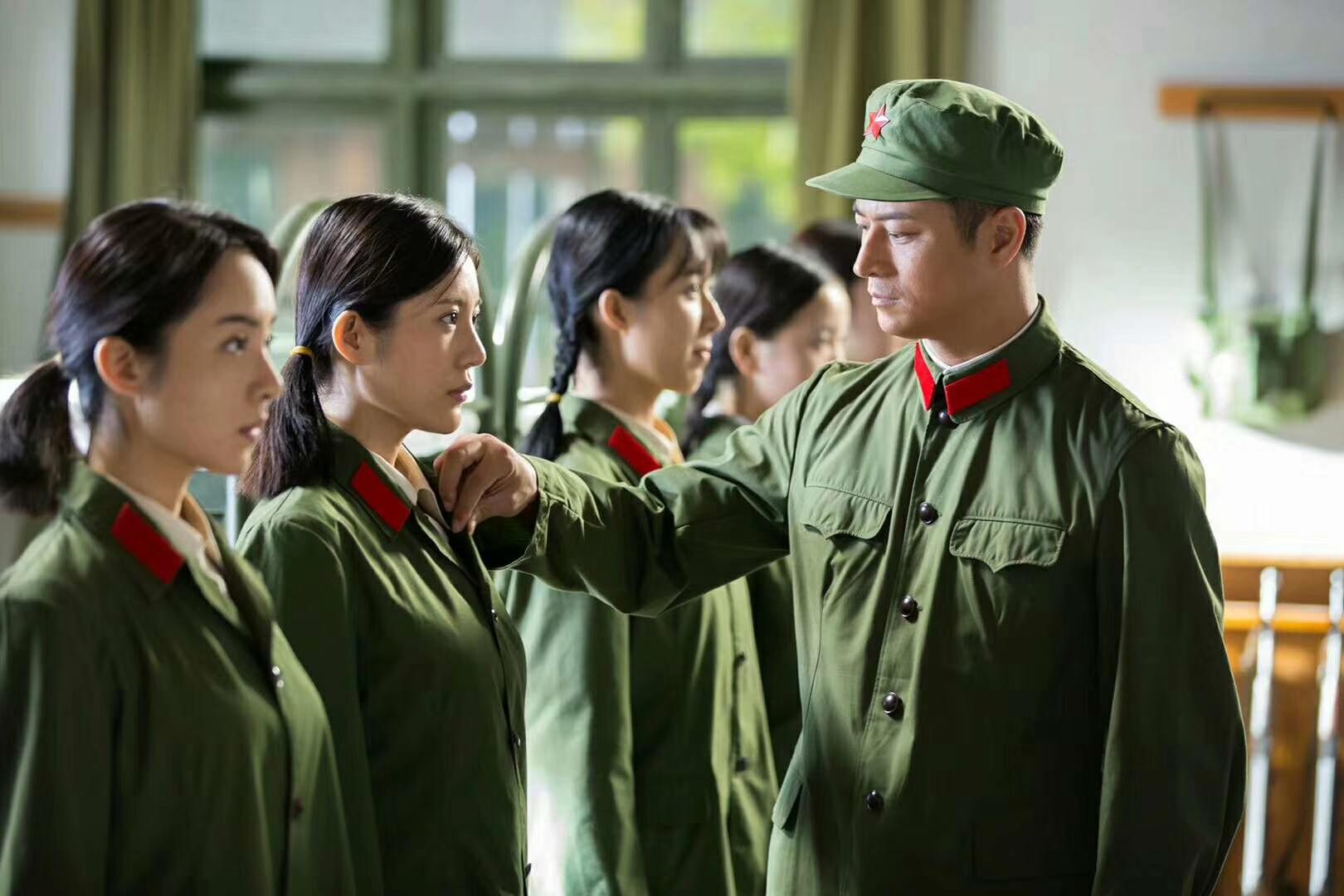 Jiangguo Lin, Jingjing Wu, Shine Yang, and Jing Wang in Into the Sky (2017)