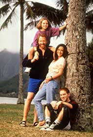 Seth Green, Jennifer Love Hewitt, Timothy Busfield, and Ryan O'Donohue in The Byrds of Paradise (1994)