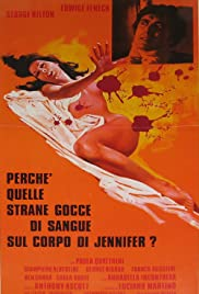 The Case of the Bloody Iris (1972) Perché quelle strane gocce di sangue sul corpo di Jennifer? 1080p