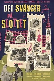 Alice Babs and Sven Lindberg in Det svänger på slottet (1959)