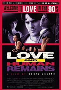 Primary photo for Love & Human Remains