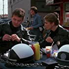 Colleen Camp and David Graf in Police Academy 2: Their First Assignment (1985)