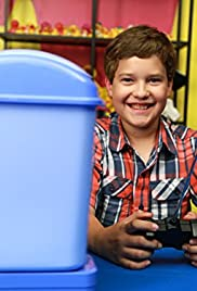 Kids Try a Remote Control Trash Can Poster