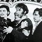 Óscar Chávez, Ernesto Gómez Cruz, Sergio Jiménez, and Eduardo López Rojas in Los caifanes (1967)