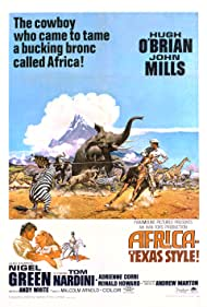 Africa: Texas Style Poster - Movie Forum, Cast, Reviews