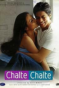 Shah Rukh Khan and Rani Mukerji in Chalte Chalte (2003)
