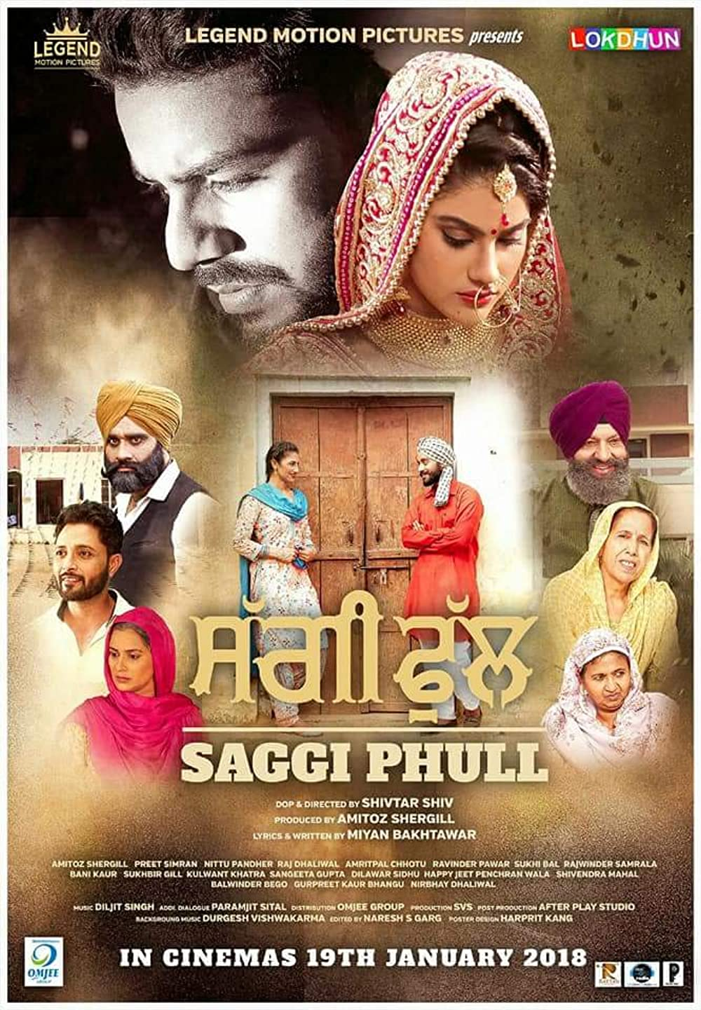 Saggi Phull 2018 Punjabi 720p HDRip ESub 1.11GB Download