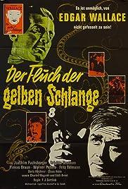 Der Fluch der gelben Schlange Poster