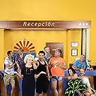Paul Bazely, Janine Duvitski, Julie Graham, Simon Greenall, Tony Maudsley, Steve Edge, Jake Canuso, and Adam Gillen in Benidorm (2007)