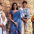 Shah Rukh Khan, Lekh Tandon, Gayatri Joshi, and Kishori Ballal in Swades: We, the People (2004)