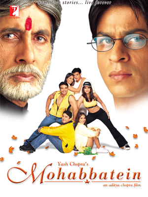 Amitabh Bachchan Mohabbatein Movie
