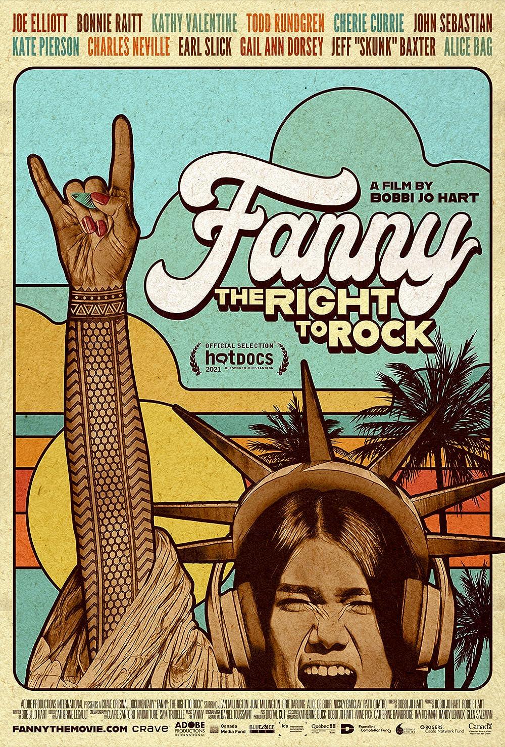 Fanny: The Right to Rock (2021) - IMDb