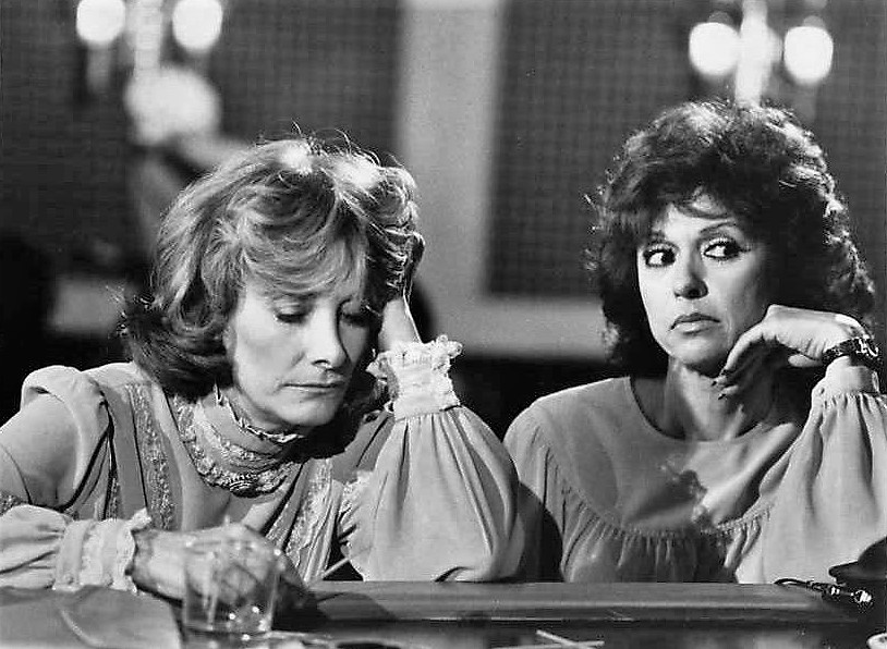 Rita Moreno and Jean Marsh in 9 to 5 (1982)