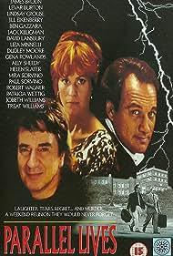 Jim Belushi, James Brolin, and Lindsay Crouse in Parallel Lives (1994)