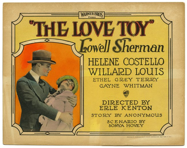 Lowell Sherman and Jane Winton in The Love Toy (1926)