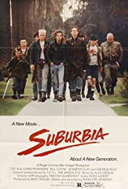 Suburbia (1983) Poster - Movie Forum, Cast, Reviews