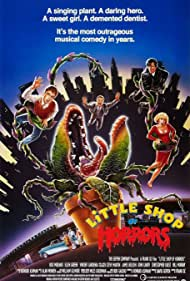 Steve Martin, Rick Moranis, Tichina Arnold, Tisha Campbell, Vincent Gardenia, Ellen Greene, and Michelle Weeks in Little Shop of Horrors (1986)