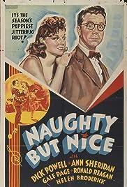Naughty But Nice Poster