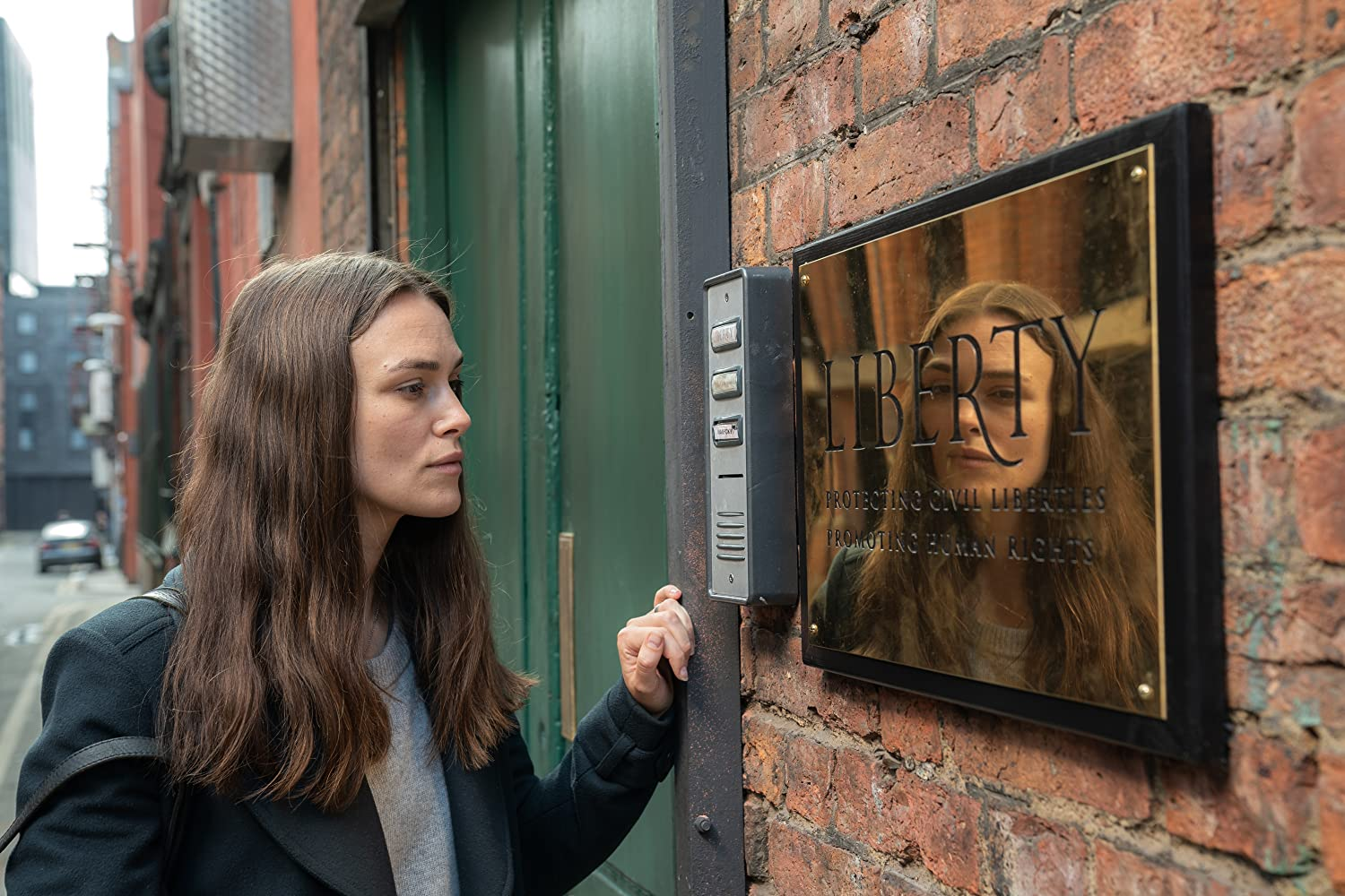 Keira Knightley in Official Secrets (2019)
