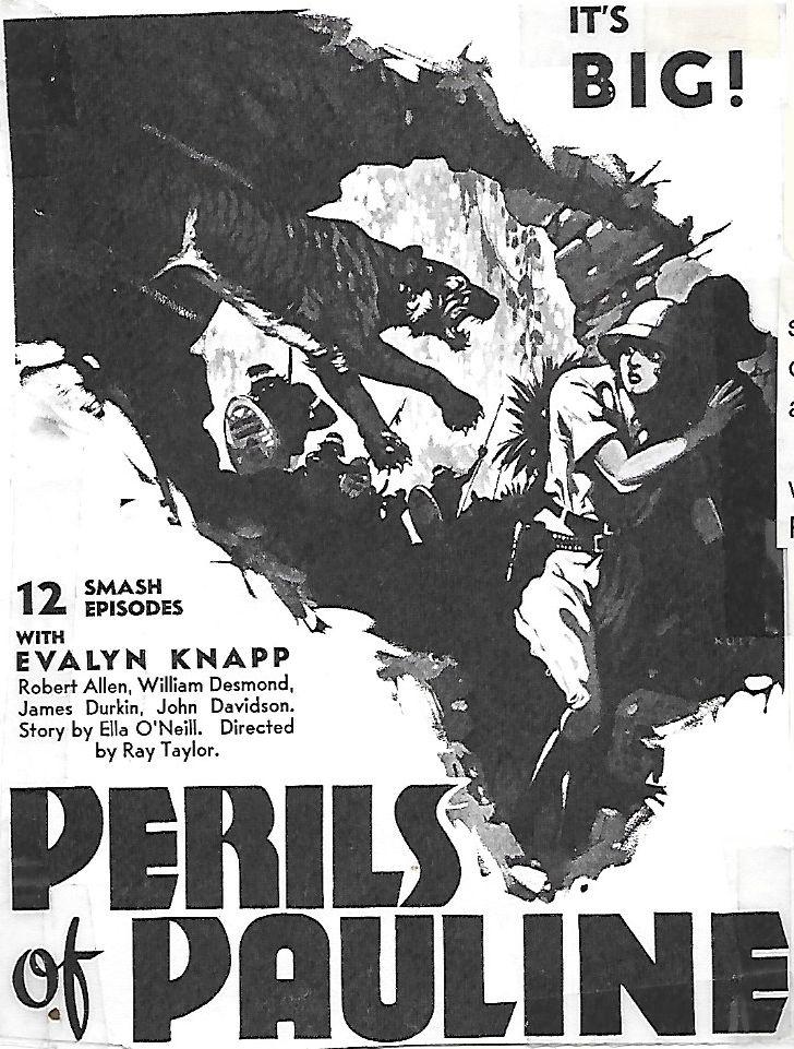 Evalyn Knapp in Perils of Pauline (1933)