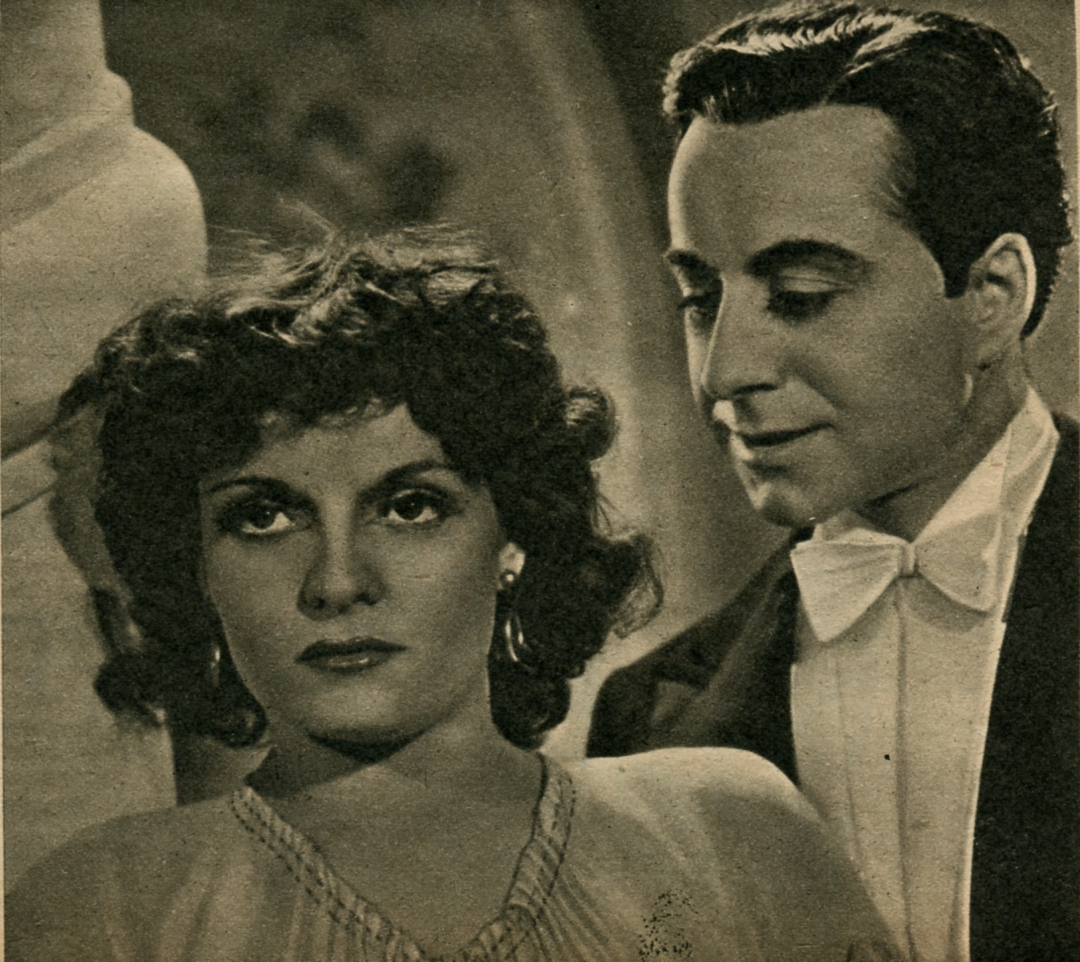 José Noguéro and Madeleine Sologne in Le Danube bleu (1940)