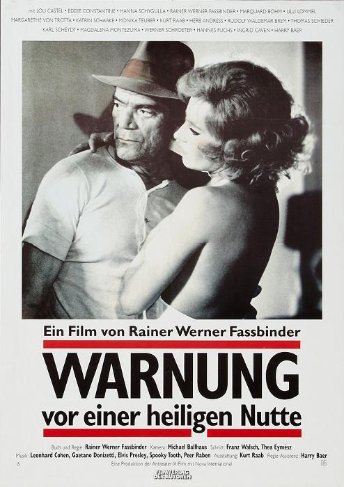 Eddie Constantine and Hanna Schygulla in Warnung vor einer heiligen Nutte (1971)