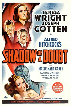 Shadow of a Doubt Poster Image