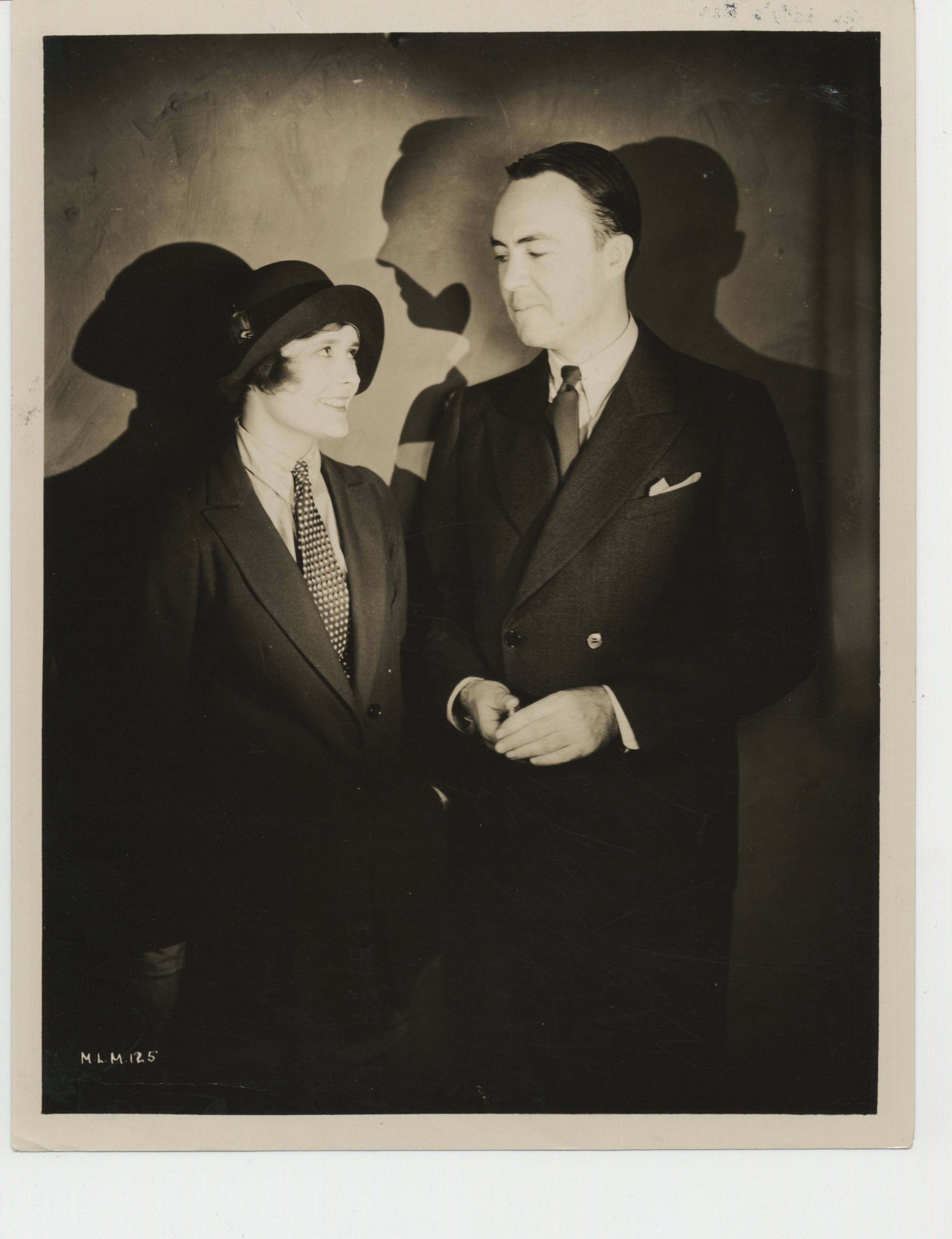 Betty Lawford and Gene Markey in Lucky in Love (1929)