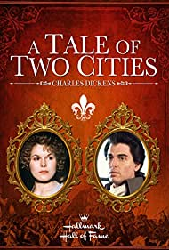 Alice Krige and Chris Sarandon in A Tale of Two Cities (1980)
