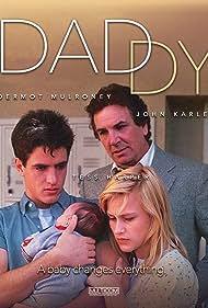 Patricia Arquette, Dermot Mulroney, and Danny Aiello in Daddy (1987)