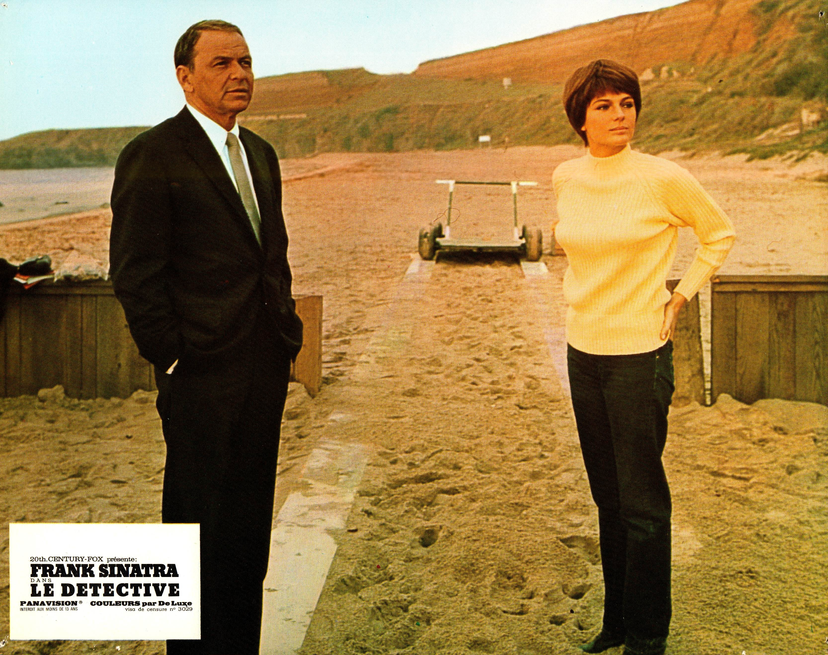 Frank Sinatra and Jacqueline Bisset in The Detective (1968)