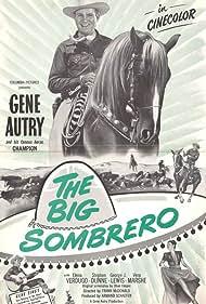 Gene Autry, Elena Verdugo, and Champion in The Big Sombrero (1949)