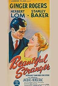 Ginger Rogers, Herbert Lom, Stanley Baker, Jacques Bergerac, Eddie Byrne, and Margaret Rawlings in Beautiful Stranger (1954)