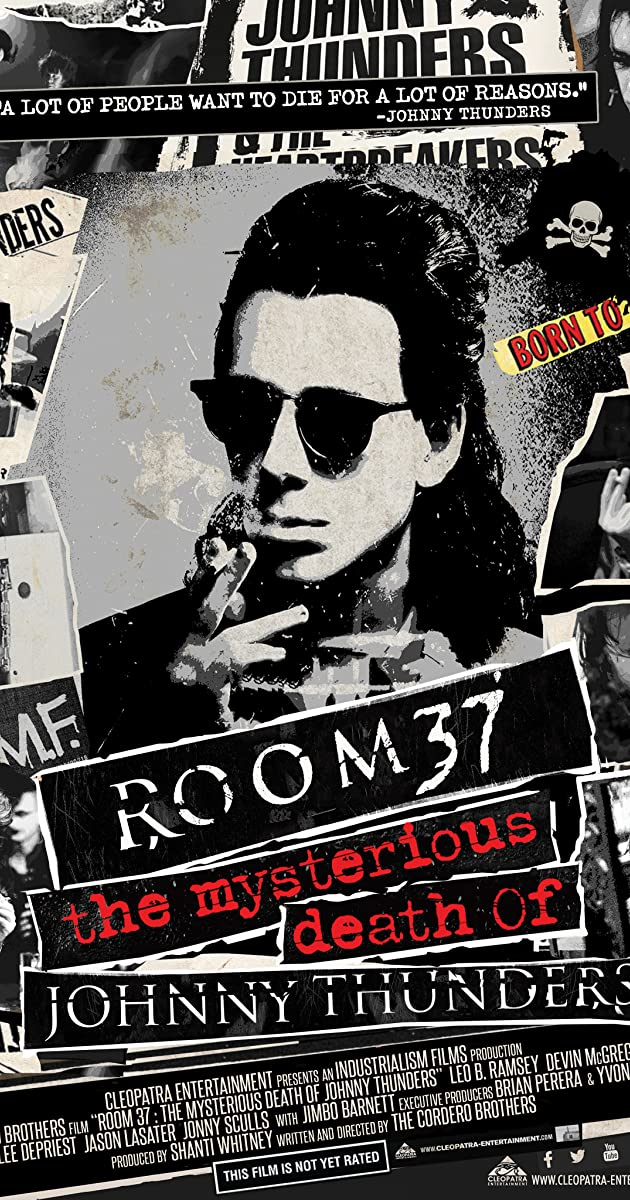 Subtitle of Room 37: The Mysterious Death of Johnny Thunders