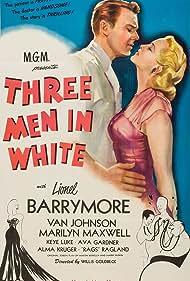 Van Johnson and Marilyn Maxwell in 3 Men in White (1944)