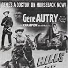 Gene Autry, Elaine Riley, and Champion in The Hills of Utah (1951)