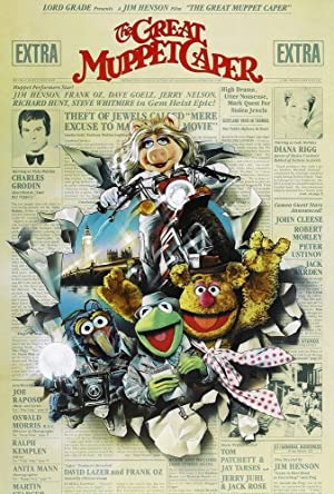 The Great Muppet Caper Poster Image