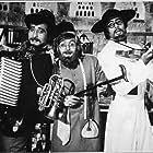 Amitabh Bachchan, Rishi Kapoor, and Vinod Khanna in Amar Akbar Anthony (1977)