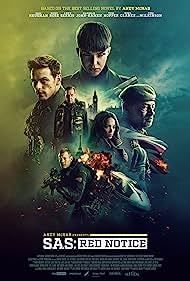 Noel Clarke, Andy Serkis, Tom Wilkinson, Sam Heughan, Tom Hopper, Ruby Rose, and Hannah John-Kamen in SAS: Red Notice (2021)