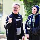 Mehdi Fakhimzadeh and Hengameh Ghaziani in Be Vaghte Khomari (2018)