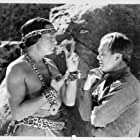 Monte Blue and Dick Wessel in Hawk of the Wilderness (1938)