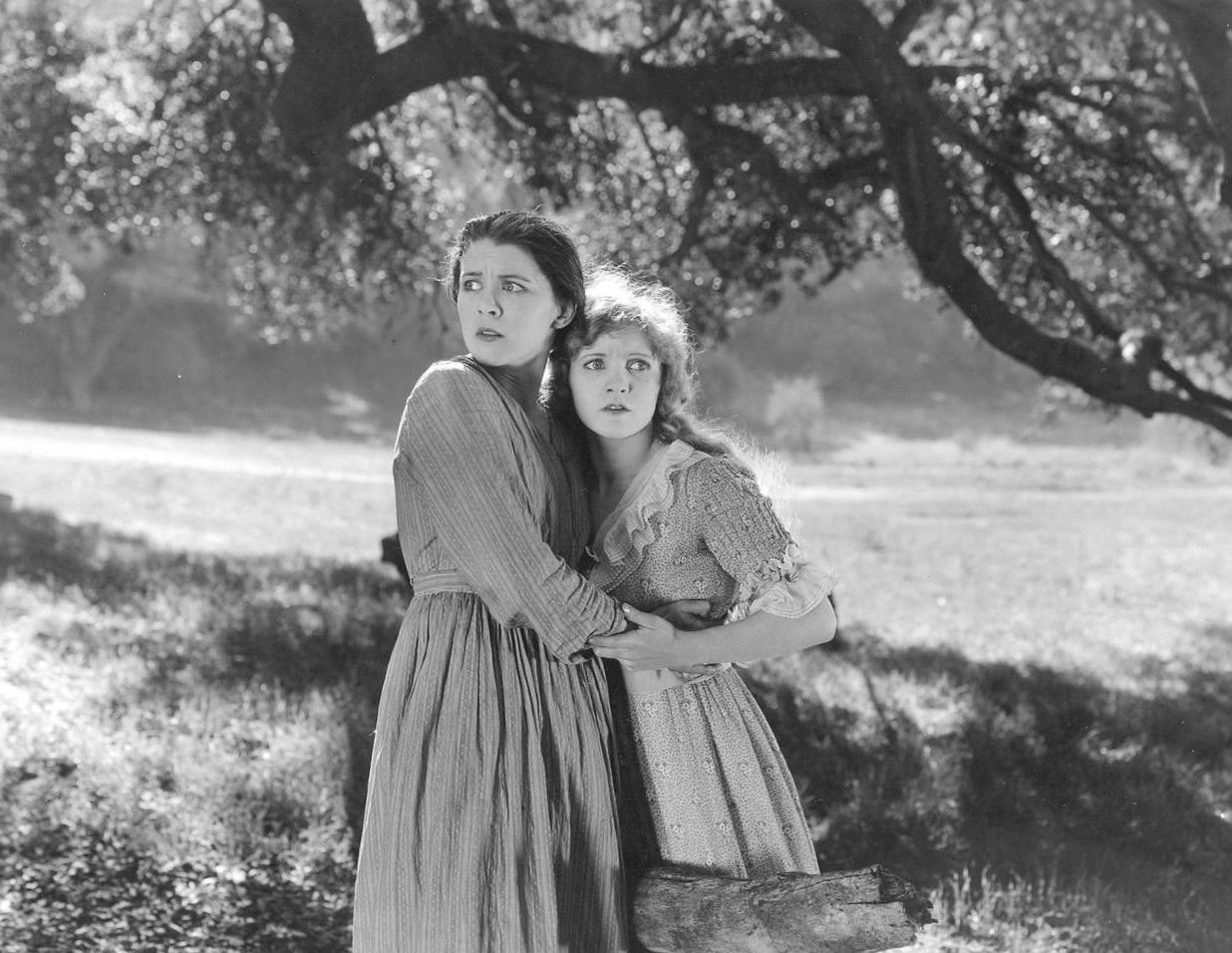 Mary Miles Minter and Fritzi Ridgeway in Judy of Rogues' Harbor (1920)