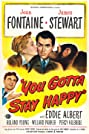You Gotta Stay Happy (1948) Poster