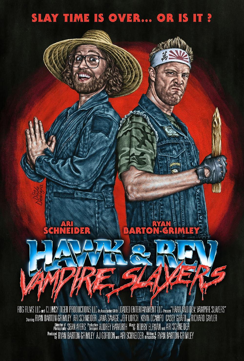 Hawk and Rev: Vampire Slayers 2021 English 720p HDRip 800MB | 270MB Download