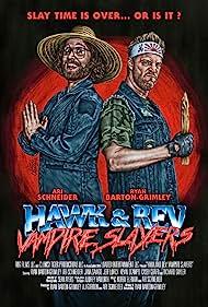 Ryan Barton-Grimley and Ari Schneider in Hawk and Rev: Vampire Slayers (2020)