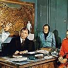 Sevket Altug, Perran Kutman, Adile Nasit, Münir Özkul, and Sener Sen in Hababam Sinifi Dokuz Doguruyor (1978)