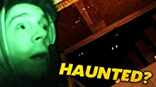 Ethan Explores Mark's Haunted Basement