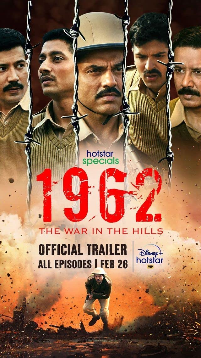 1962: The War in the Hills (2021) Season 1 (Hotstar Specials)