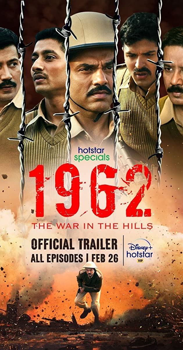 1962 The War in the Hills (2021) Hindi Season 1 Watch Online HD